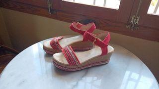 Sandalias de cuña de Fashion