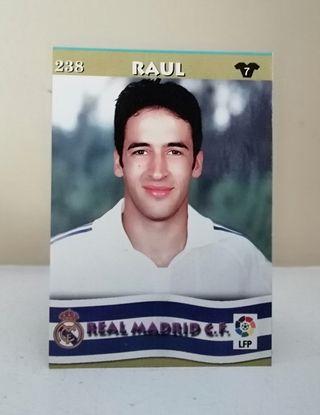 RAÚL #238 REAL MADRID TOP LIGA 2002/03 MUNDICROMO