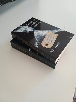 Libros Cincuenta sombras de Grey