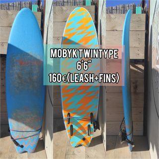 "Tabla de Surf Mobyk Soft 6'6"""