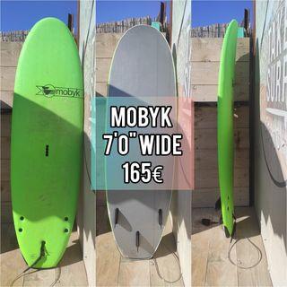 """Tabla de surf Mobyk school 7"""" Wide"""