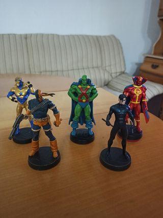 Figuras de plomo DC colección