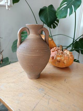 Jarron cerámica Almería antiguo