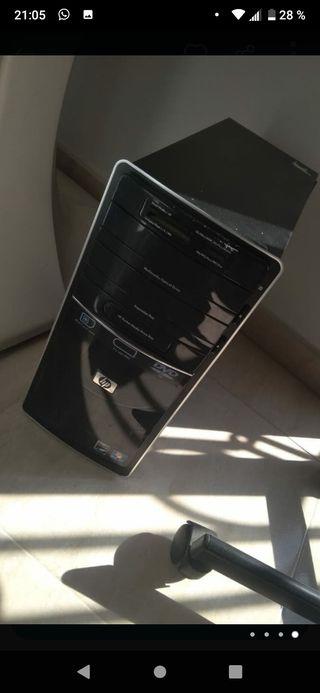 PC HP+MONITOR LG+SILLA+PERIFERICOS
