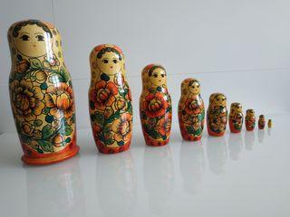 Matrioska nueve piezas