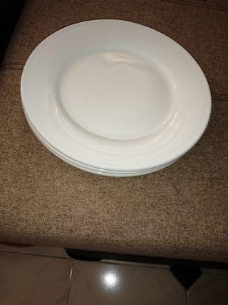 platos nuevos porcelana