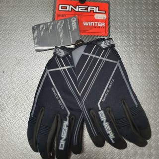 guantes invierno oneal neoprene y winter gloves