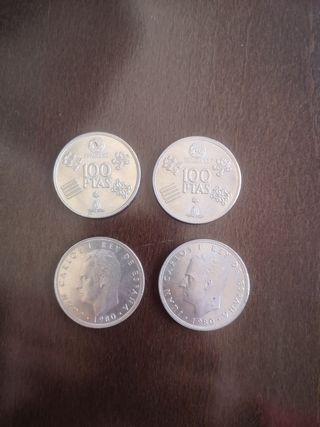 Monedas 100 ptas '82
