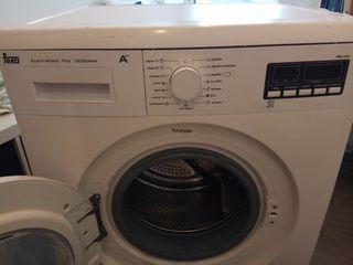 Lavadora marca Teka 2 años de uso