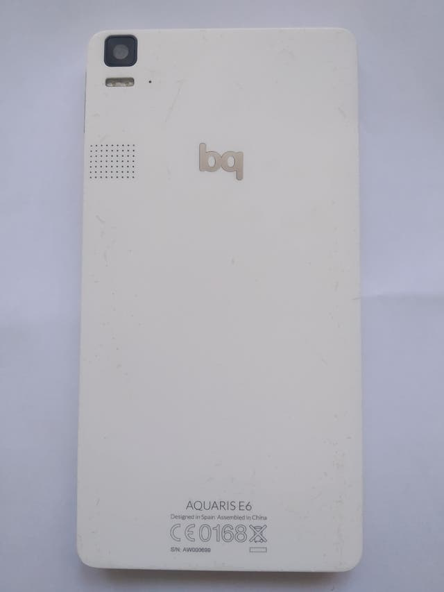 móvil bq Aquaris e6