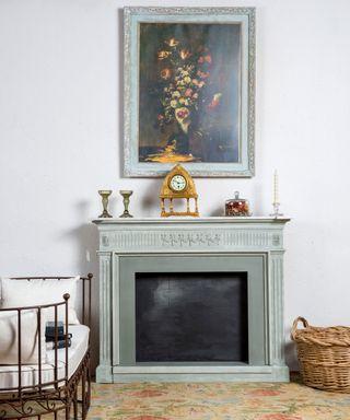 Chimenea Decorativa Antigua Restaurada Jolie