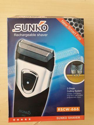 Afeitadora electrica recargable SUNKO