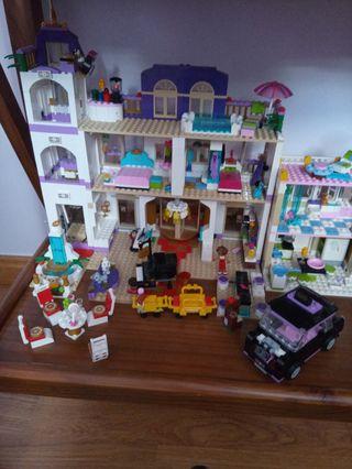 hotel lego friends