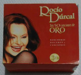 ROCIO DURCAL (SUS 50 CANCIONES DE ORO) Triple CD