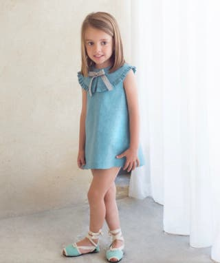 Vestido Eve children lino talla 4