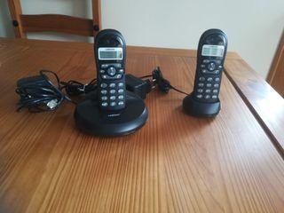 Teléfonos dúo.