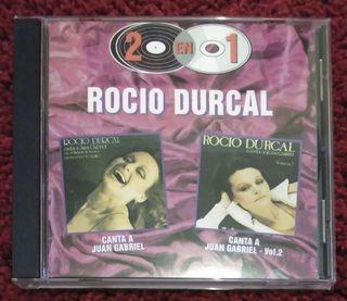 ROCIO DURCAL (CANTA A JUAN GABRIEL VOL. 1 Y 2) CD