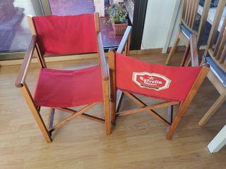sillas plegables de exterior de alta calidad