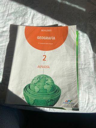 Libro geografia anaya