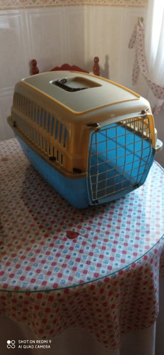 Transportín para conejos, gatos pequeños...