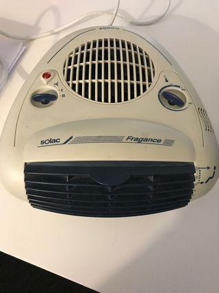 Calefactor eléctrico pequeño