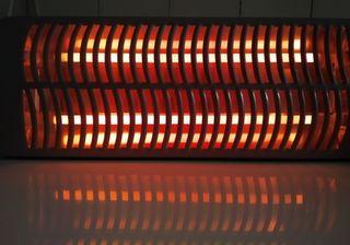 Calefactor eléctrico de pared (cuarzo)