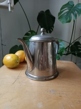 Tetera / cafetera metal vintage
