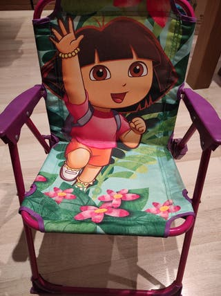 Silla plegable niñ@s Dora la exploradora
