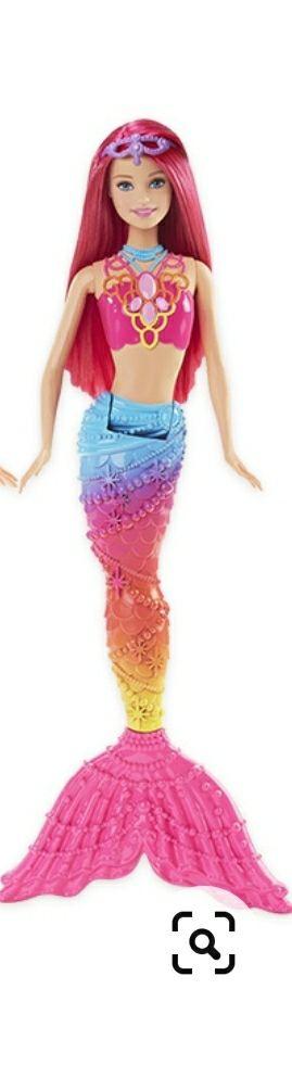 Muñeca barbie dreamtopia sirena