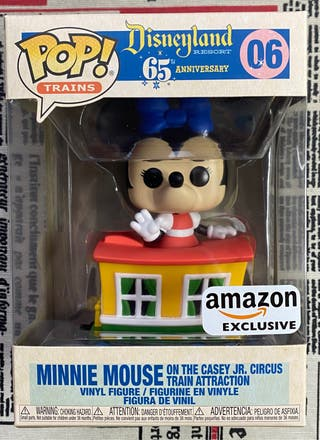 Funko Pop! Minnie Mouse on the casey Jr. Circus 06