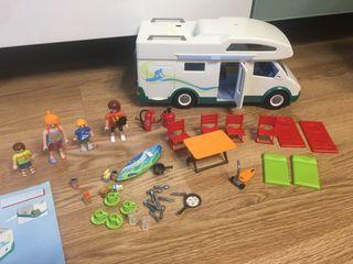 Caravana playmobil 6671 con caja
