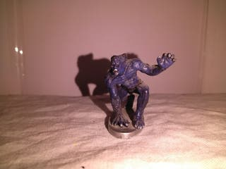 Figura de plomo Bestia Marvel 2004