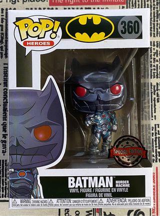 Funko Pop! Batman Murder Machine nº360