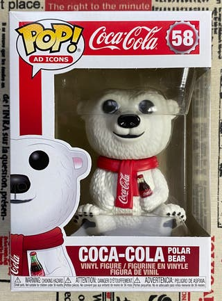 Funko Pop! Coca-Cola Polar Bear nº58