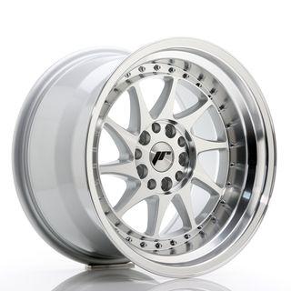 JR Wheels JR26 17x10 ET20 5x114/120 Silver Machine