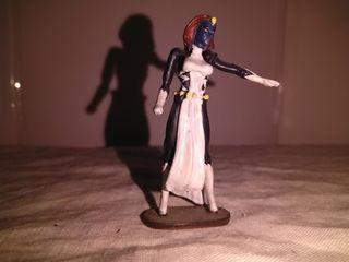 Figura de plomo Mistica Marvel 2004
