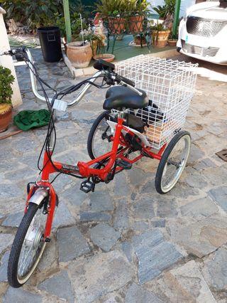 Triciclo eléctrico plegable Ciclotek Pex