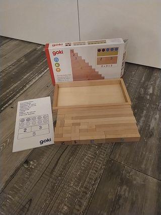 Goki regletas de madera.