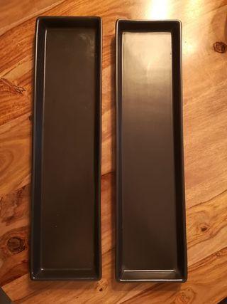 Platos rectangulares Ikea