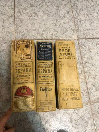 Anuario general España 1922