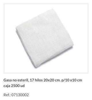 gasas algodón