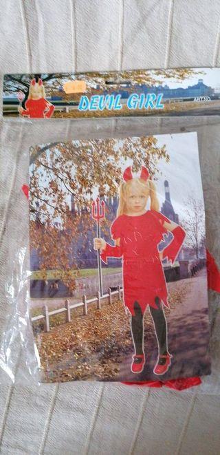disfraces de diablita niña