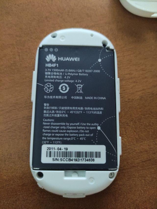 Módem de Internet Huawei desbloqueado