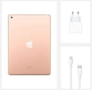 Apple iPad 10.2 (2020) 32GB Wifi - Oro + teclado