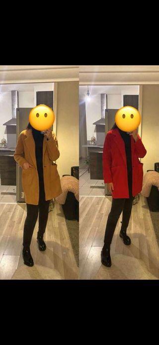 Veste longue Zara