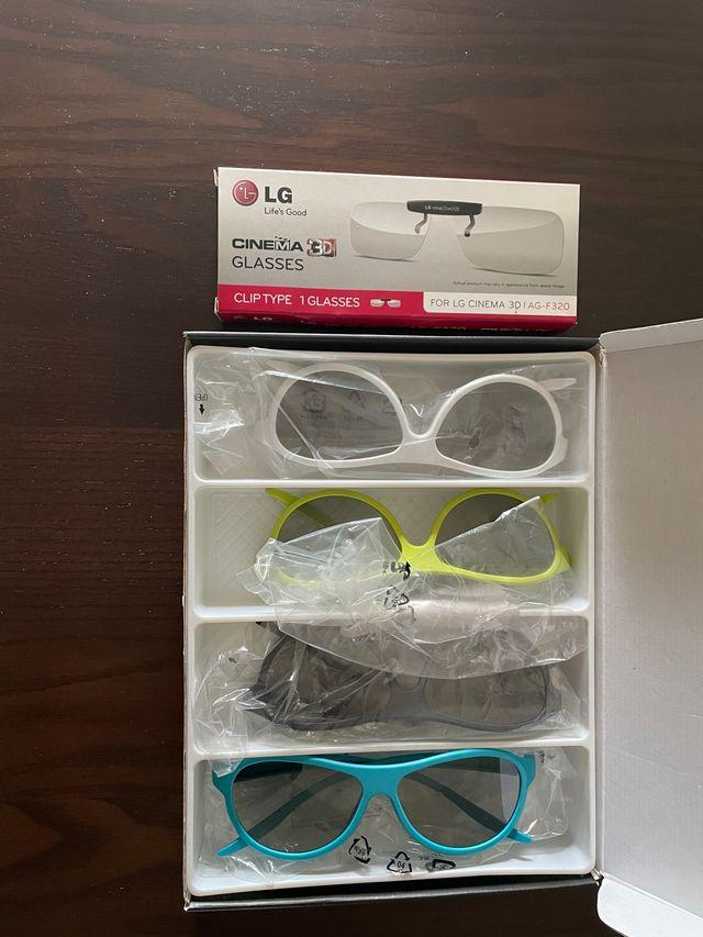 Gafas 3 d para telvisor