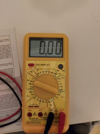 Tester o multimetro Promax