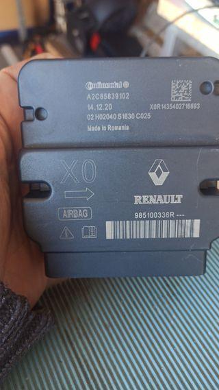 reparar airbag impacto centralita immo kms
