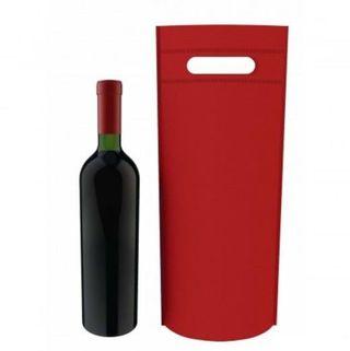12 bolsa de tela para botella