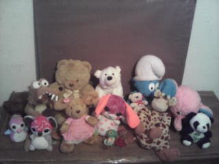 lote 14 peluches